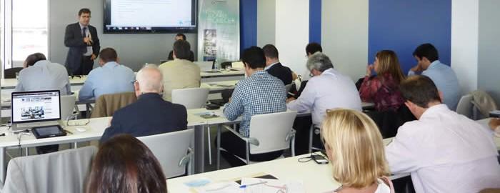 Reunión de la Red de Técnicos de APTE celebrada en Espaitec, Parc Científic, Tecnològic i Empresarial de la UJI