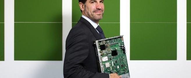 Igor Amantegui, consejero delegado y fundador de Centum, en la sede de la compañía en TecnoGetafe.