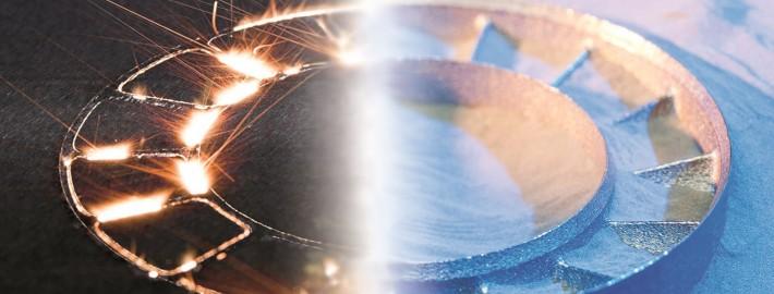 La fabricación aditiva permite una gran libertad de diseño. Fuente: Fraunhofer ILT.