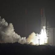 lanzamiento del cohete europeo Ariane 5