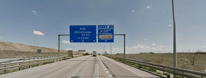 accesos M50
